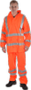OCEAN-ABEKO-Warnschutz, Komfort Light Warn-Schutz-Jacke, High Vis,170g/m², orange
