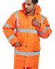 SSP-Warn-Schutz-Jacke High Visibility, orange