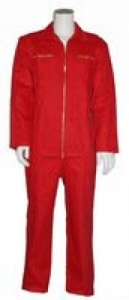 SSP-Kinderoverall, 260g/m², rot