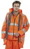 SSP-Warnschutz, Warn-Schutz-4 in 1 Jacke High Visibility, orange