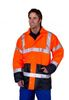 SSP-Warn-Schutz-Jacke High Visibility, orange/marine