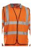 SSP-Warnschutz, Warn-Schutz-Weste High Visibility, orange