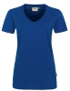 HAKRO-Damen-V-Shirt, High Performance, 190 g / m², hp ultramarinblau