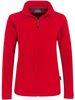 HAKRO-Women-Fleece-Jacke Delta, rot