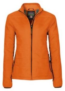 HAKRO-Damen-Loft-Jacke, Regina, orange