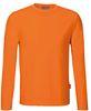 HAKRO-Longsleeve Performance, orange