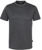 HAKRO-T-Shirt Coolmax®, anthrazit