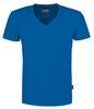 HAKRO-T-Shirt, V-Ausschnitt Slim-Fit, royal
