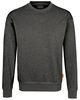 HAKRO-Sweatshirt Performance, anthrazit-melange