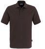 HAKRO-Poloshirt Top, chocolate
