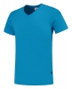 TRICORP-T-Shirts, V-Ausschnitt, Slim Fit, 160 g/m², turquoise