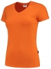 TRICORP-Damen-T-Shirts, V-Ausschnitt, 190 g/m², orange