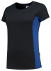 TRICORP-Damen-T-Shirt, Bicolor, 190 g/m², navy-royal