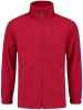 TRICORP-Fleece-Jacke, Basic Fit, 320 g/m², red