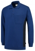 TRICORP-Polosweater, mit Brusttasche, Bicolor, 280 g/m², royalblue-navy