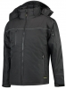 TRICORP-Midi Parka, Basic Fit, 160 g/m², black