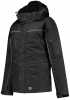 TRICORP-Midi Parka Canvas, Basic Fit, 300 g/m², black