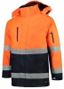 TRICORP-Parka EN ISO 20471 Bicolor, Basic Fit, 200 g/m², fluor orange-navy