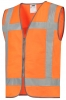 TRICORP-Warnschutz, Warnweste RWS Reissverschluss, Basic Fit, 120 g/m², orange