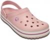 CROCS-Crocband-Clogs, pearl pink/wild orchid