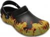 CROCS-Bistro Graphic Clogs, black